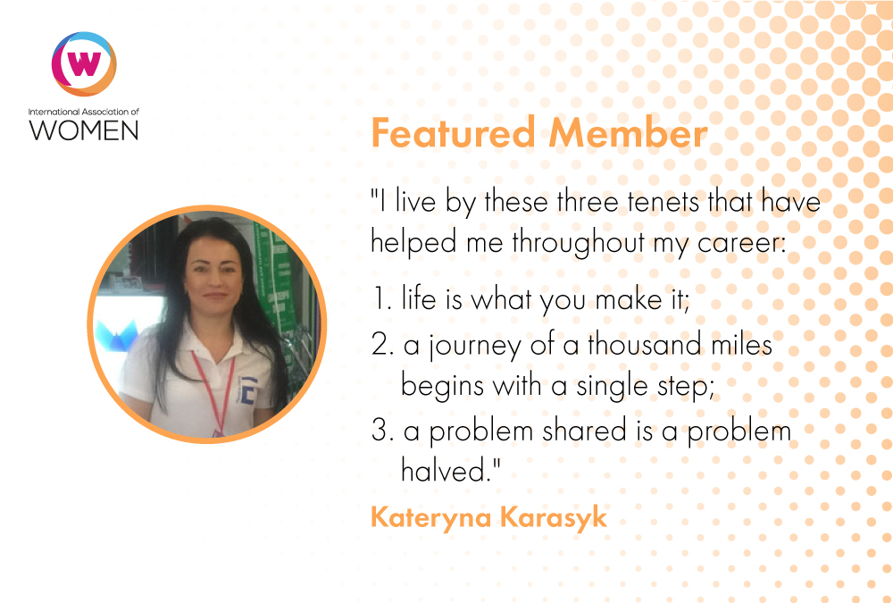 Featured Member: Kateryna Karasyk is Taking on a Big Challenge