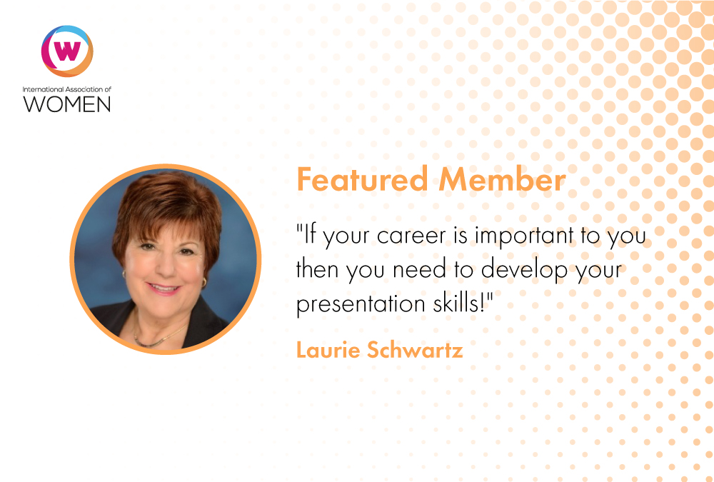 Featured Member: Laurie Schwartz Helps Others Overcome Fears About Public Speaking
