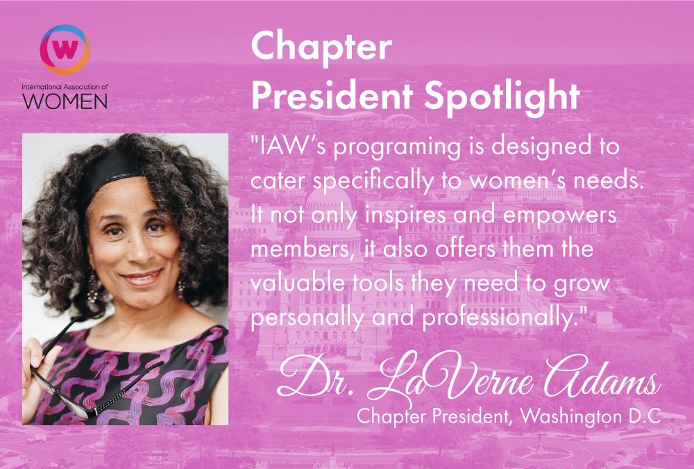 chapter-spotlight-dr-laverne-adams-in-washington-d-c