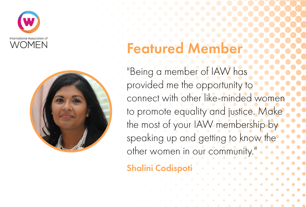 Featured Member: Shalini Codispoti Shares Her Passion for Advocacy and Empowerment